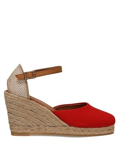 Nine West Sandalet Kırmızı